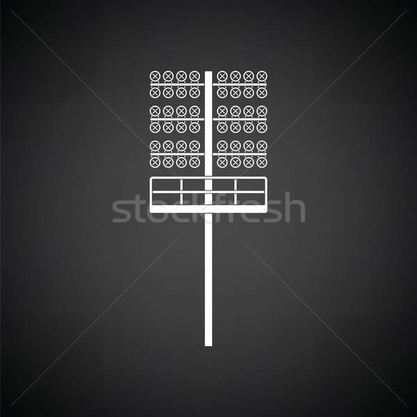 Soccer light mast  icon Stock photo © angelp