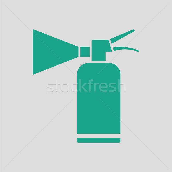 Extinguisher icon Stock photo © angelp