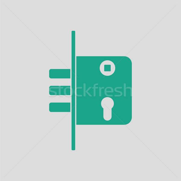 Door lock icon Stock photo © angelp