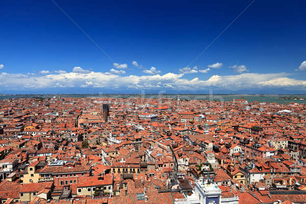Aerial view of Venice Stock photo © angelp