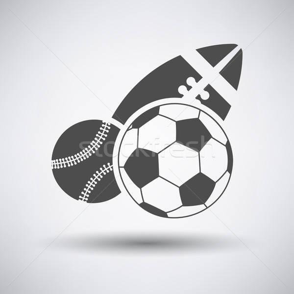 Stock photo: Sport Balls Icon
