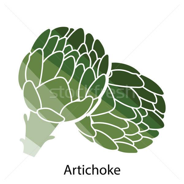 Artichoke icon Stock photo © angelp