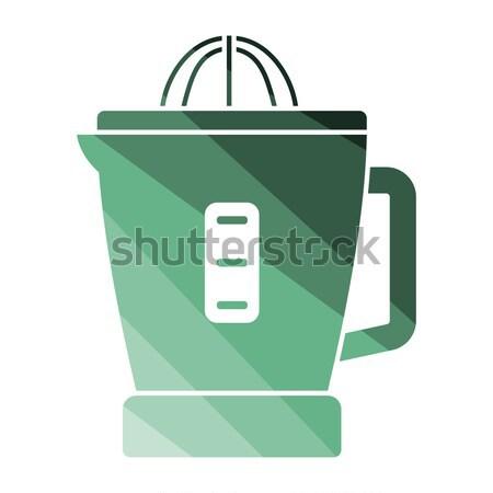 Citrus juicer machine icon Stock photo © angelp
