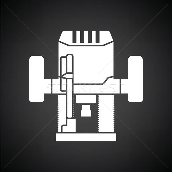 Plunger milling cutter icon Stock photo © angelp