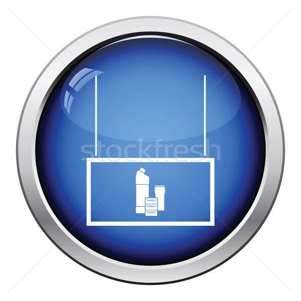 Casa productos químicos mercado departamento icono Foto stock © angelp