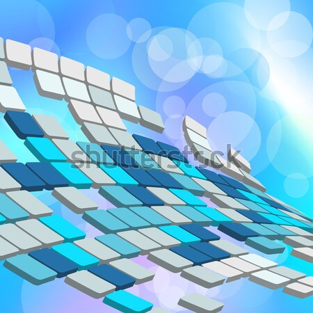 Abstract 3D business web design ontwerp schoonheid Stockfoto © angelp