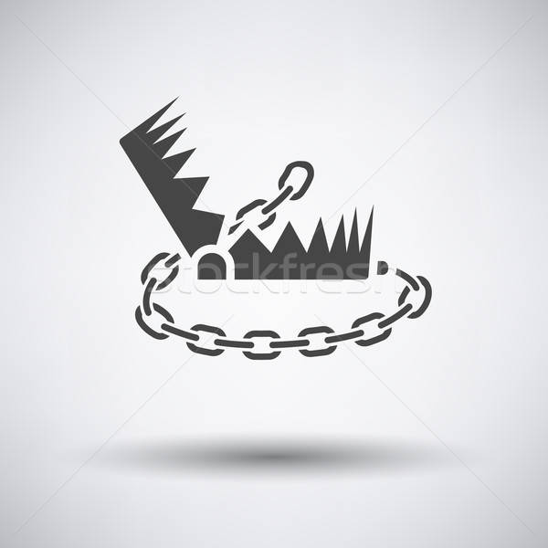 Bear hunting trap  icon Stock photo © angelp