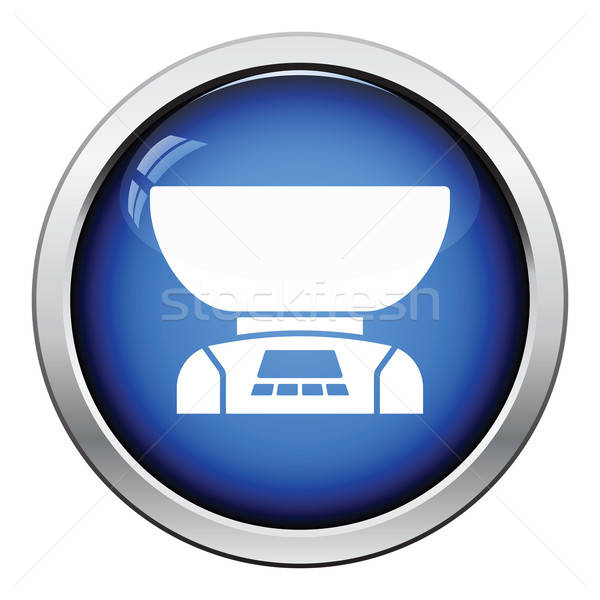 Kitchen electric scales icon Stock photo © angelp