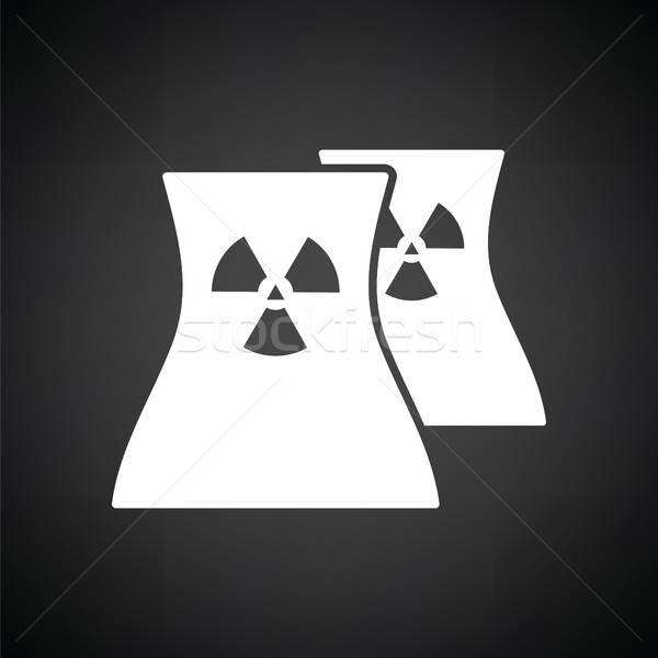 Nuclear station icon Stock photo © angelp