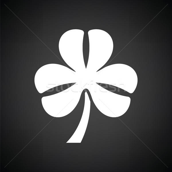 Shamrock icon Stock photo © angelp