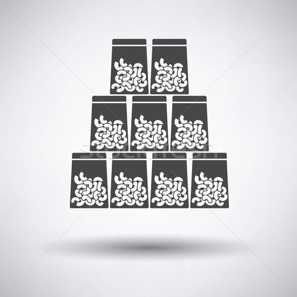 Macaroni in packages icon Stock photo © angelp