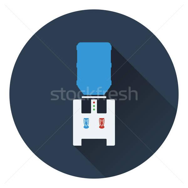 Eau refroidissement machine bureau design art Photo stock © angelp
