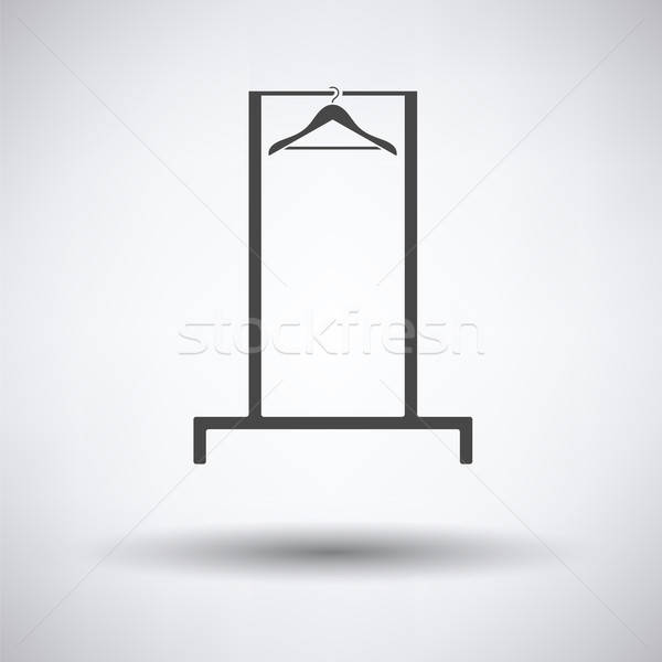 Hanger rail icon Stock photo © angelp