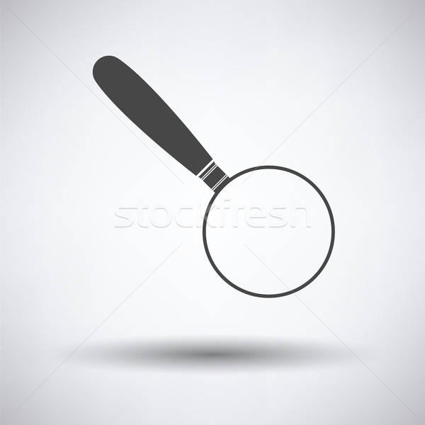 Magnifying glass icon Stock photo © angelp