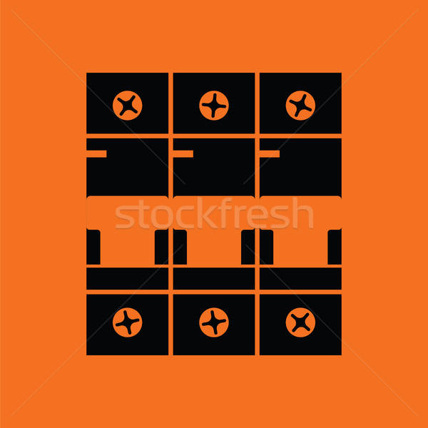Circuit breaker icon Stock photo © angelp