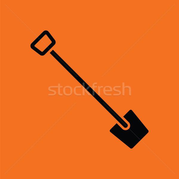 Shovel icon Stock photo © angelp