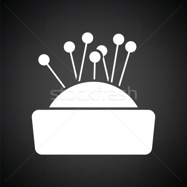Pin cushion icon Stock photo © angelp