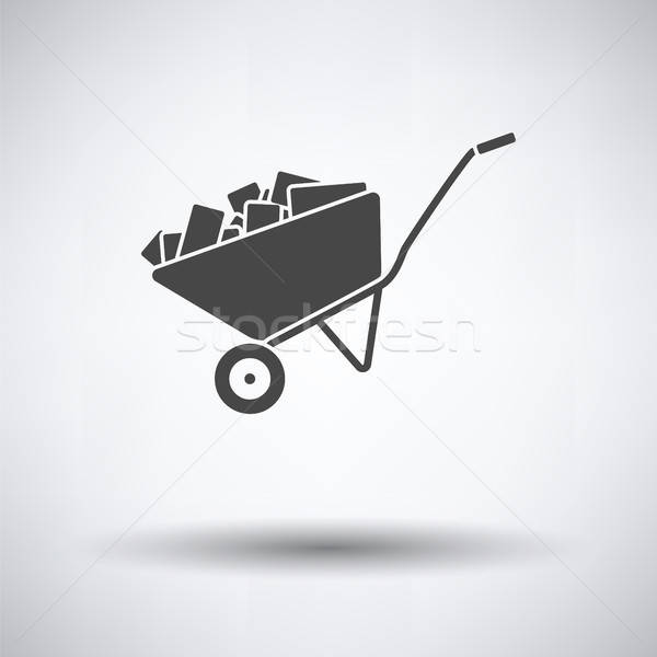 Icon of construction cart  Stock photo © angelp