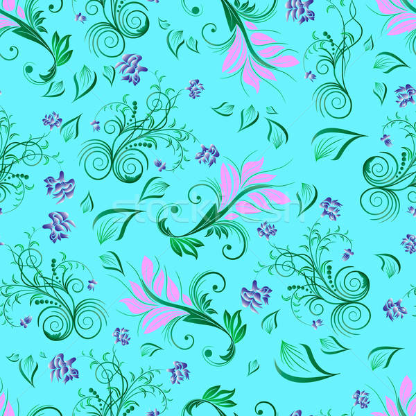 floral seamless background Stock photo © angelp