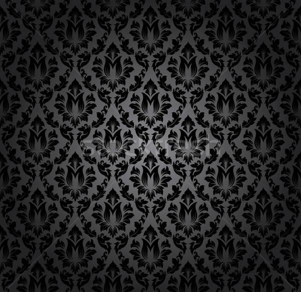 ダマスク織 エレガントな デザイン ロイヤル バロック ストックフォト © angelp