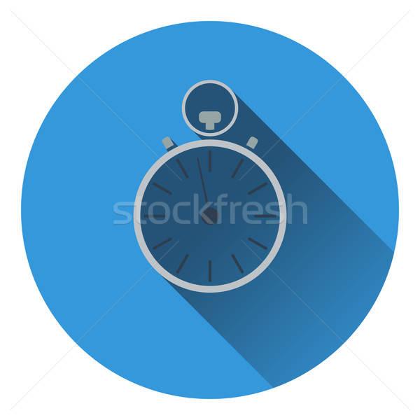 Stopwatch icon Stock photo © angelp
