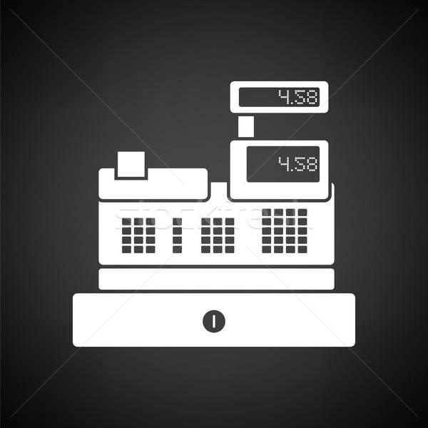 Cashier icon Stock photo © angelp