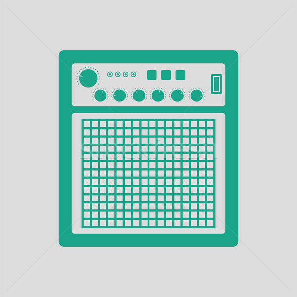 Audio monitor icon Stock photo © angelp