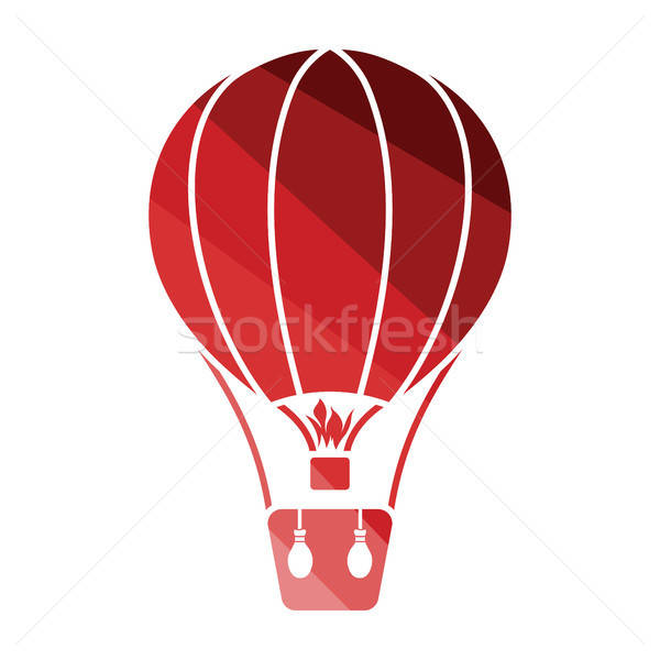 Hot air balloon icon Stock photo © angelp