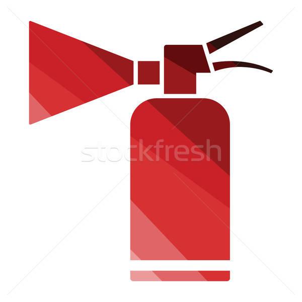 Extinguisher icon Stock photo © angelp