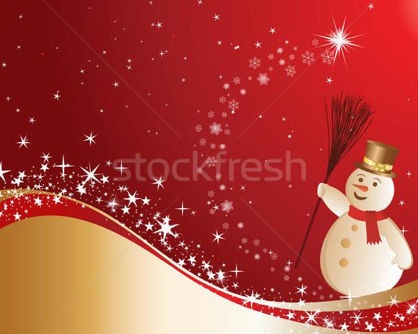 Natale bella vettore capodanno design texture Foto d'archivio © angelp