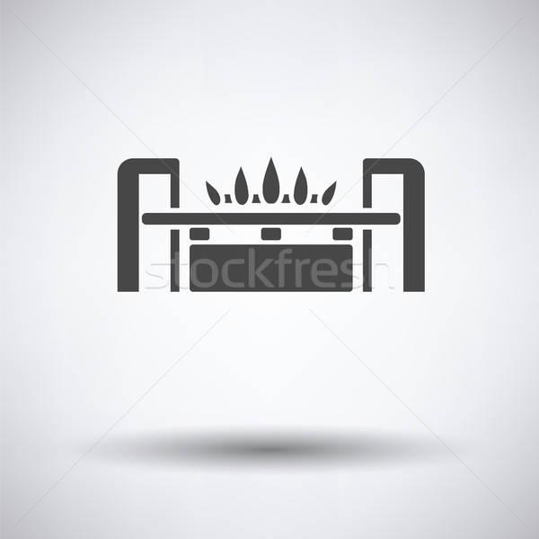 Gas burner icon Stock photo © angelp