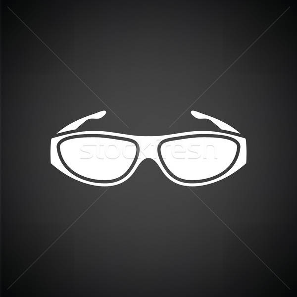 Poker sunglasses icon Stock photo © angelp