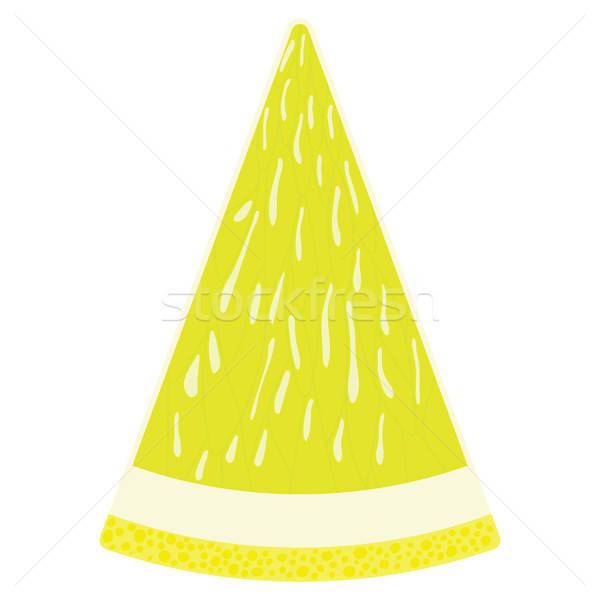 Diseno icono limón ui colores árbol Foto stock © angelp