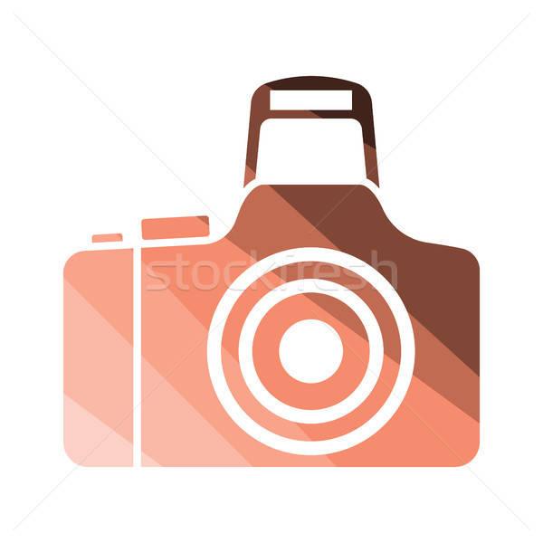 Audio Lautsprecher Symbol Farbe Design Musik Stock foto © angelp
