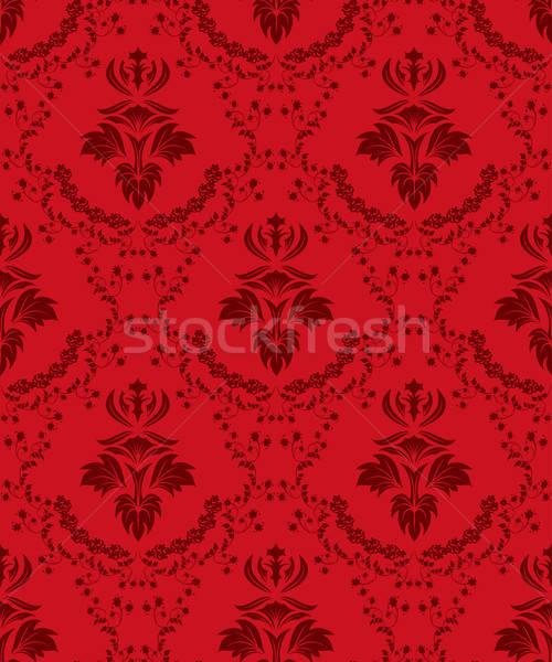 seamless damask pattern Stock photo © angelp