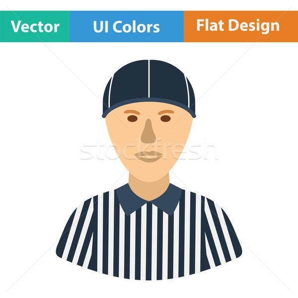 American football referee icon Stock photo © angelp