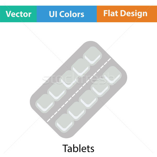 Tablets pack icon Stock photo © angelp
