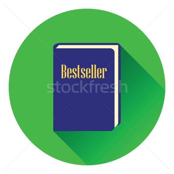 Bestseller libro icono color diseno papel Foto stock © angelp