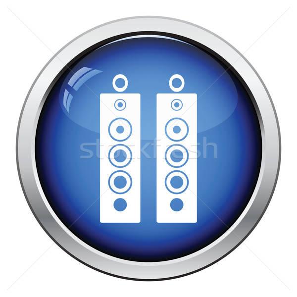 Audio system speakers icon Stock photo © angelp