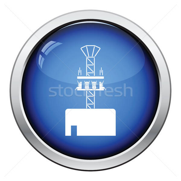 ícone botão projeto verão menino Foto stock © angelp