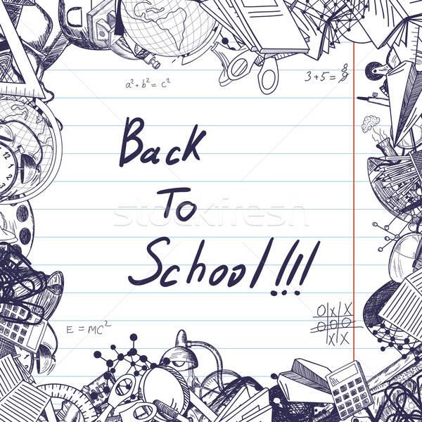 Back to school  Stock photo © angelp