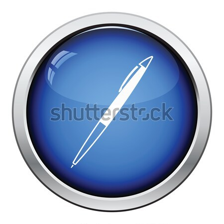 Fountain pen icon Stock photo © angelp
