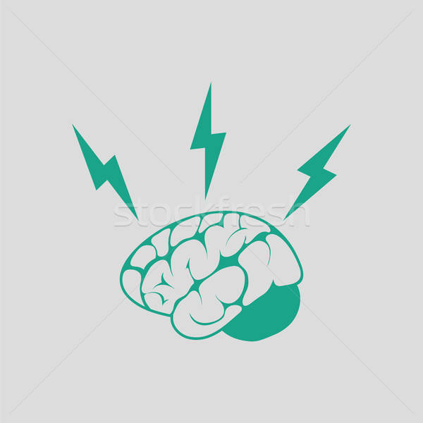 Brainstorm  icon Stock photo © angelp