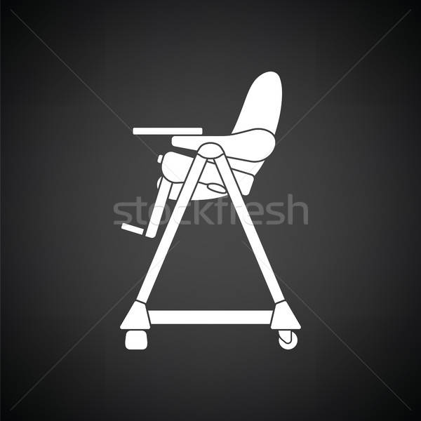 Baby High Chair Icon Vector Illustration C Pavel Konovalov Angelp