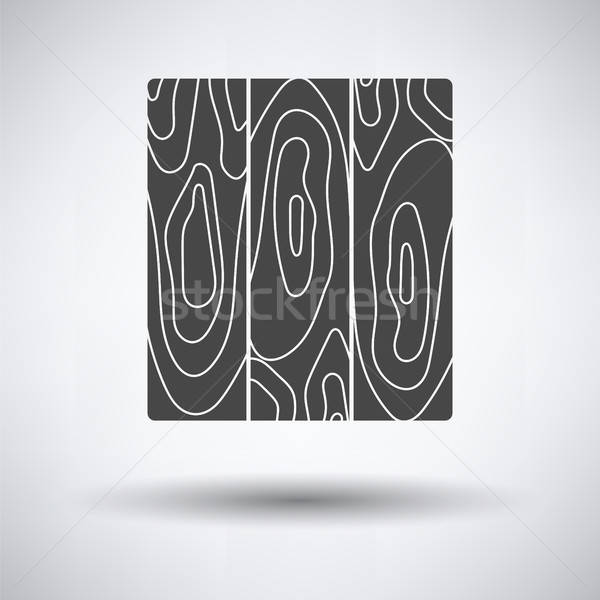 Icon of parquet plank pattern Stock photo © angelp