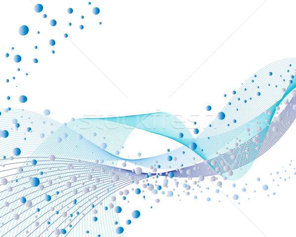 water and bubbles Stock photo © angelp