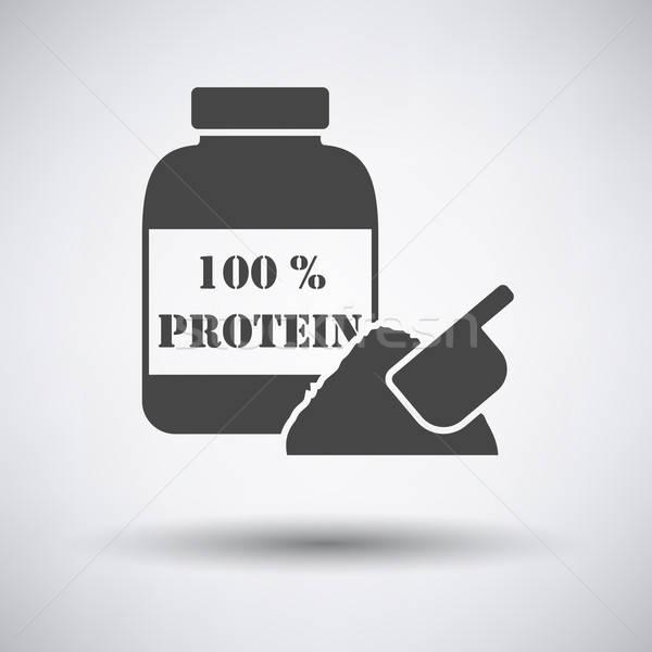 Protein conteiner icon Stock photo © angelp