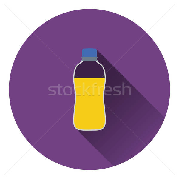 Sport bottle of drink icon Stock photo © angelp