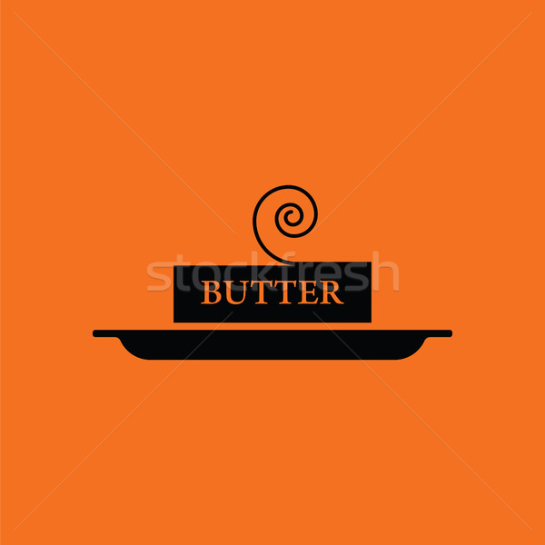 Butter icon Stock photo © angelp