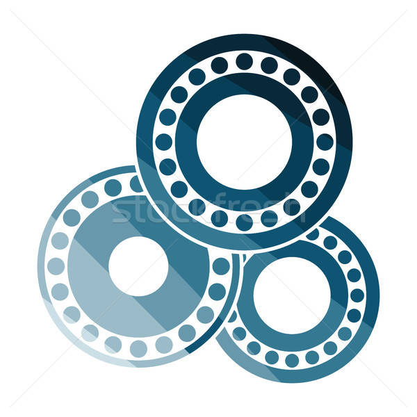 Bearing icon Stock photo © angelp